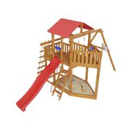 Игровая уличная площадка - САМСОН АССОЛЬ, песочница, качели, горка, канатная лестница, фото 1