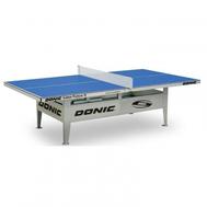 Всепогодный теннисный стол DONIC OUTDOOR PREMIUM 10 синий, фото 1