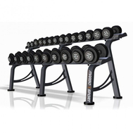 Гантельный ряд 4-26 кг (12 пар) с подставкой, фото 1