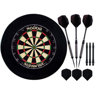 Комплект для игры в Дартс Nodor Black, фото 1