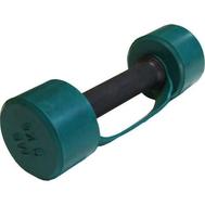 Гантель обрезиненная 3 кг, цветная MB-FitC-3, фото 1